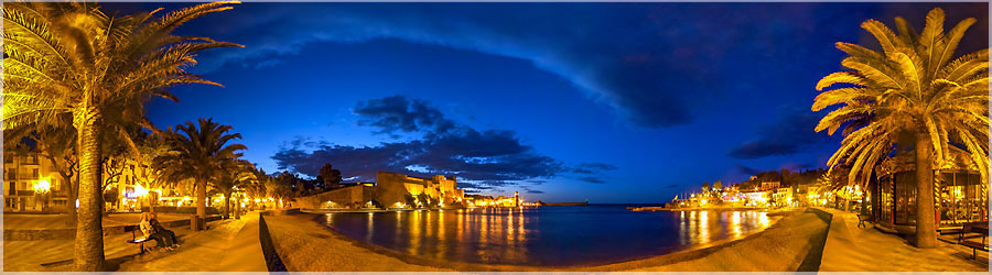 Heure bleue Collioure 360º